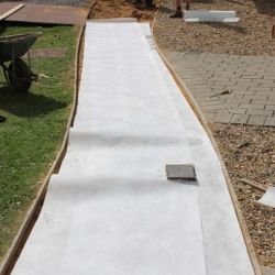 EG80 EcoGrid Approved Geotextile Membrane 80gsm Non-Woven Fleece Membrane - ALL SIZES, FREE DELIVERY