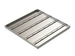 600 x 600 x 32mm Double Sealed & Locking Stainless Steel 316 Recessed Manhole Cover