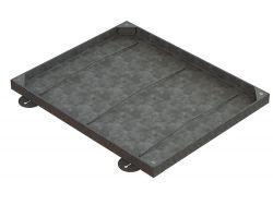 750 x 600 x 43mm Medium Double Sealed & Locking Recessed Manhole Cover
