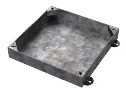 300 x 300 x 100mm Recessed Manhole Cover For Patios, Driveways, Block Paving & Flagging