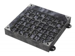 450 x 450 x 100mm EcoGrid Grass & Gravel Recessed Manhole Cover