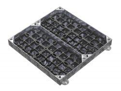 900 x 900 x 100mm EcoGrid Grass & Gravel Recessed Manhole Cover