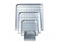 DS-Line Double Sealed Aluminium Recessed Manhole Cover, 80mm Depth - ALL SIZES, FREE EXPRESS DELIVERY