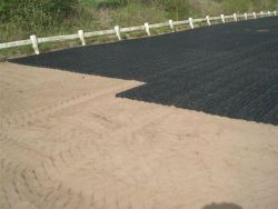 Premium Grade Complete 20 x 40m EcoGrid & Geotextile Horse Arena / Horse Manege (Menage) Package - Free Delivery