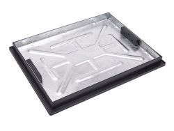 600 x 450 x 43.5mm  Recessed Manhole Cover for Patios, Driveways, Block Paving & Flagging
