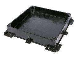 600 X 600 X 100mm Sealed & Locking D400 Recessed Manhole Cover