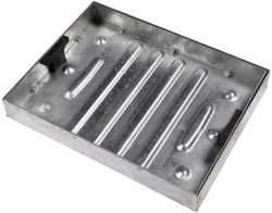 New Fully Galvanised 600 x 450 x 80mm Recessed Manhole Cover for Patios, Driveways, Block Paving & Flagging