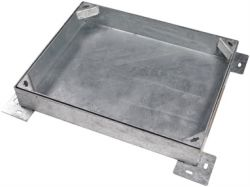 600 x 450 x 100mm Heavy Duty  Recessed Manhole Cover for Patios, Driveways, Block Paving & Flagging