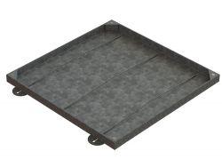 750 x 750 x 43mm Medium Sealed & Locking Recessed Manhole Cover