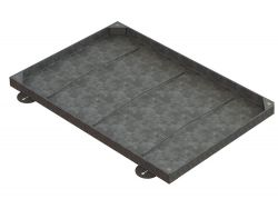 900 x 600 x 43mm Medium Sealed & Locking Recessed Manhole Cover