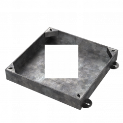 750 x 750 x 100mm  Recessed Manhole Cover for Patios, Driveways, Block Paving & Flagging