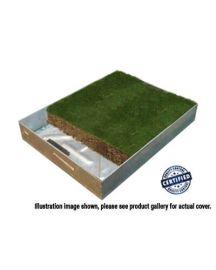 750 x 750 x 100mm GrassTop Recessed Manhole Cover