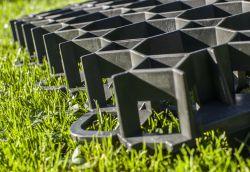 1 Tile Plasgrid Lightweight Porous Paving & Grass Reinforcement Grid