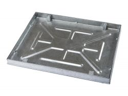New! Fully Galvanised 600 x 450 x 43.5mm Sealed & Locking Recessed Manhole Cover
